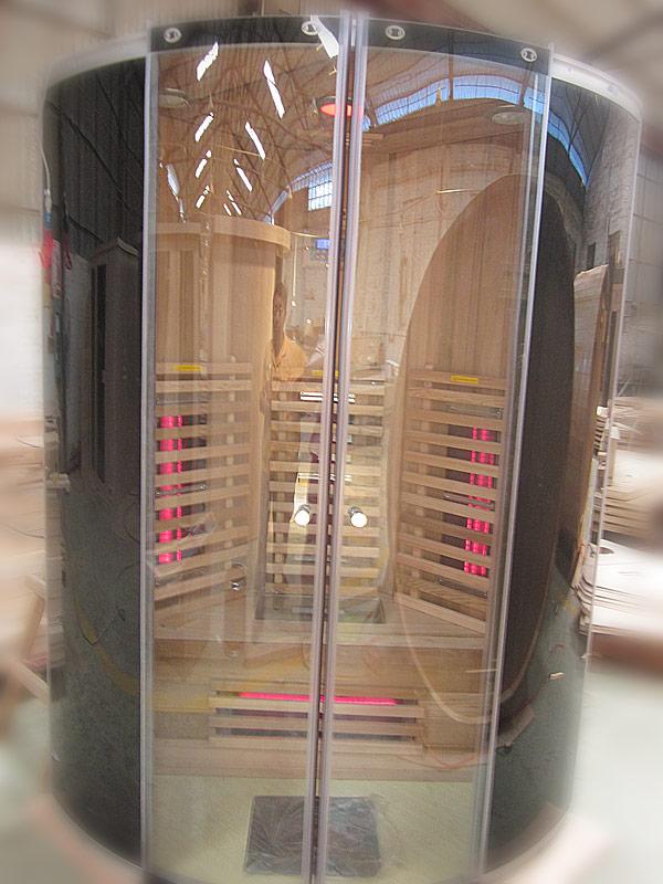 инфракрасная сауна KOY 03-k1 - вид снаружи