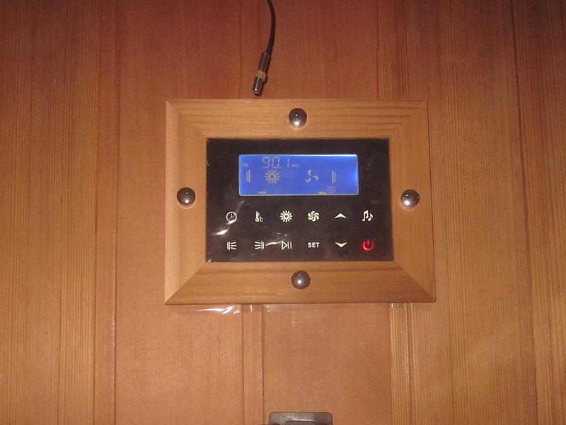 инфракрасная сауна KOY 04-k71 пульт управления