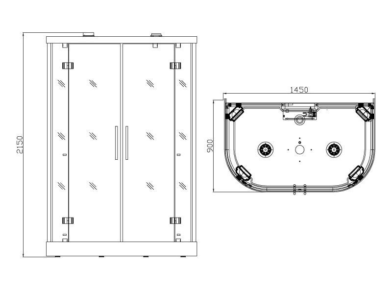 схема и размеры KOY k015